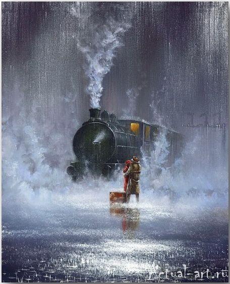 Jeff Rowland_art_Живопись_13 Pintura de chuva, Imagens