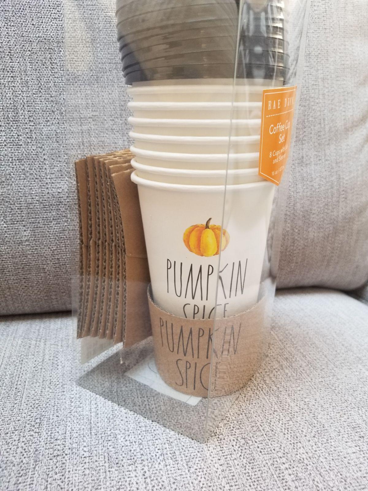 Rae Dunn Travel Coffee Mug Pumpkin Spice This listing is