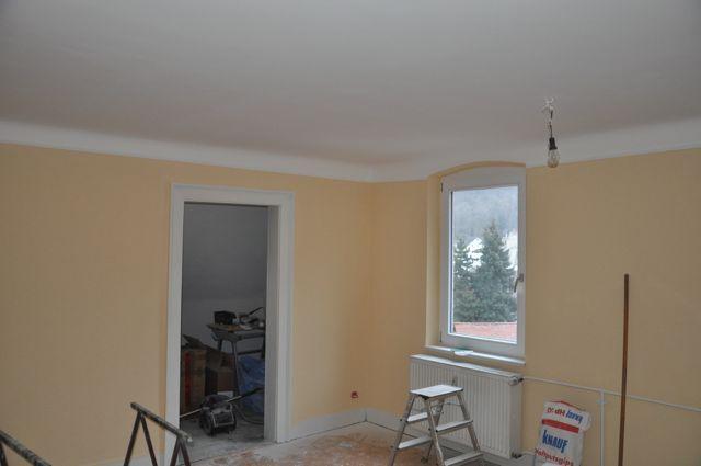 wand streichen mit weiu00dfem rahmen ideen zum streichen wohnzimmer. Black Bedroom Furniture Sets. Home Design Ideas