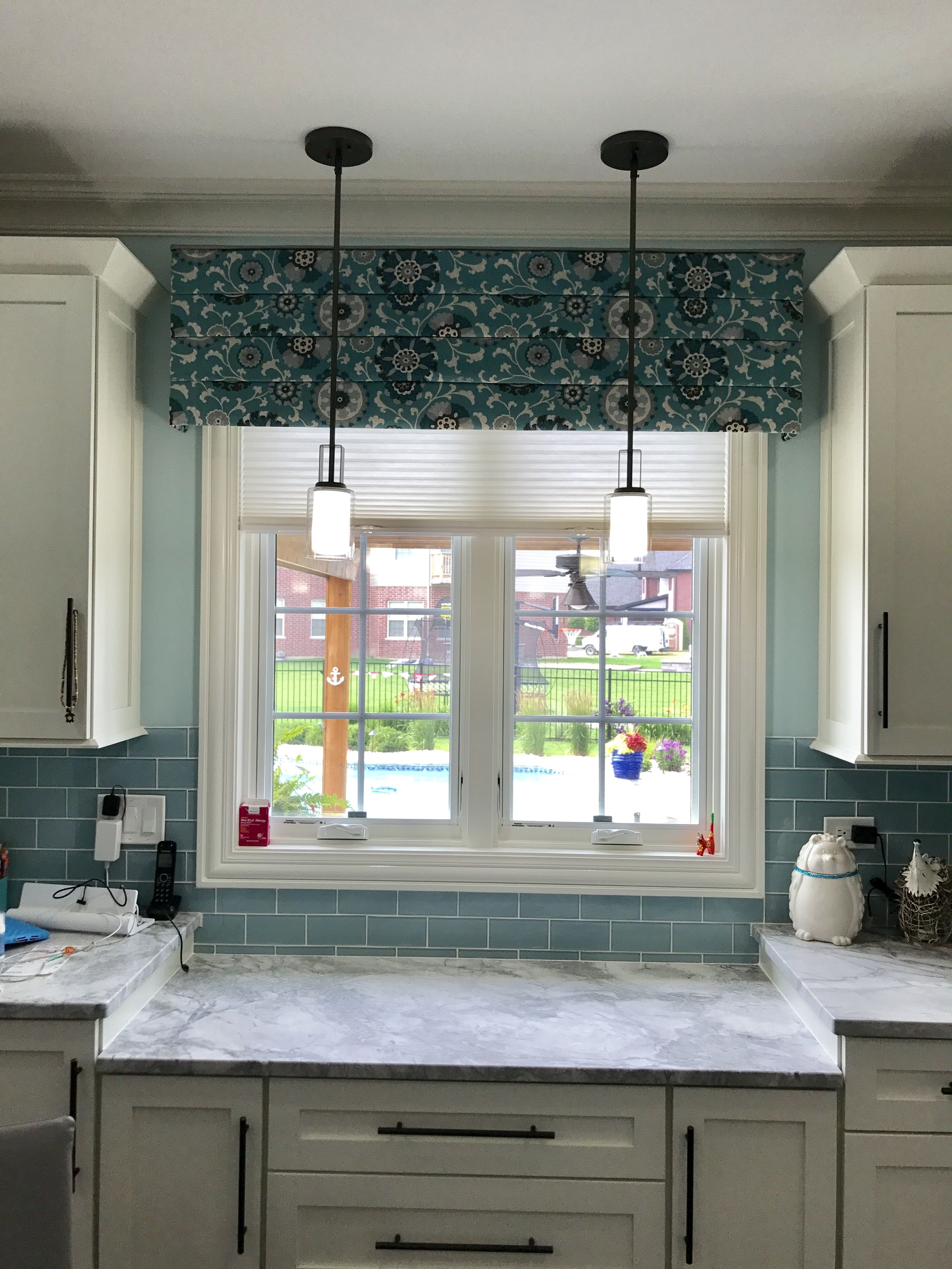 Kitchen Valance In Frankfort Il Window Design Custom Valances Custom Window Treatments