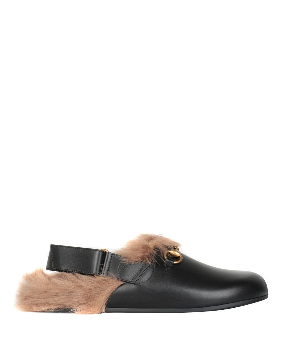 04a5dd5db Gucci River Sling Genuine Shearling Slide Slipper | Casual Outfits ...