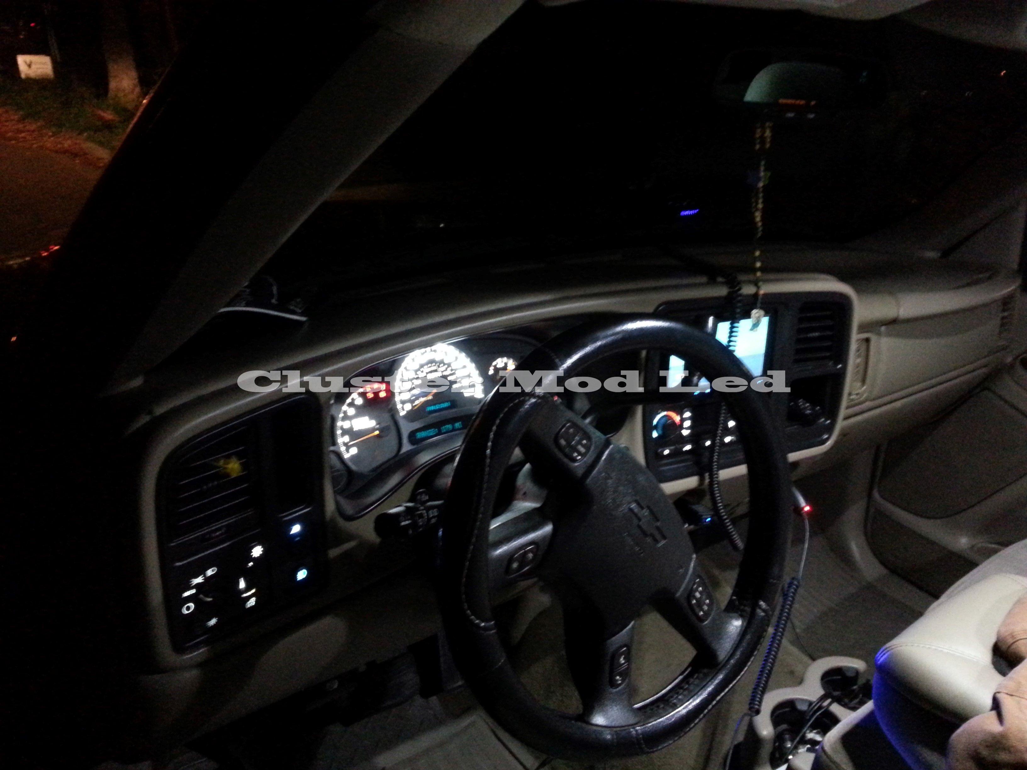 2005 Silverado Gauge Cluster Dash Led Conversion