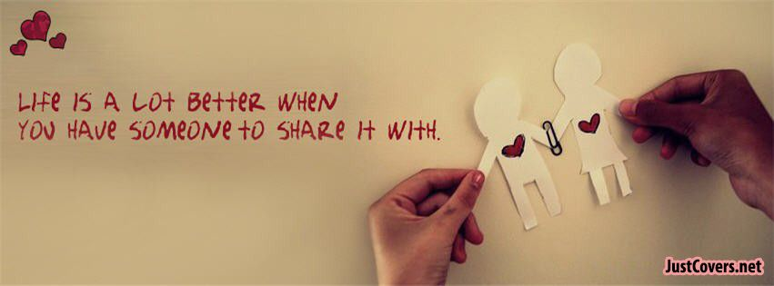 Loves Quotes Facebook Cover Photo Profile Banner   Facebook covers ...