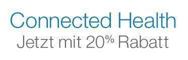 Amazon-Aktion: 20 Prozent Rabatt auf Produkte aus dem Bereich Connected-Health - http://www.onlinemarktplatz.de/58594/amazon-aktion-20-prozent-rabatt-auf-produkte-aus-dem-bereich-connected-health/