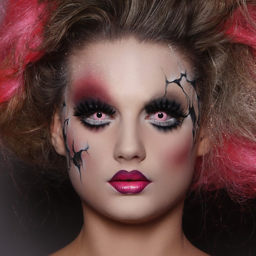Halloween doll makeup look MAKE UP FOR EVER Amazing