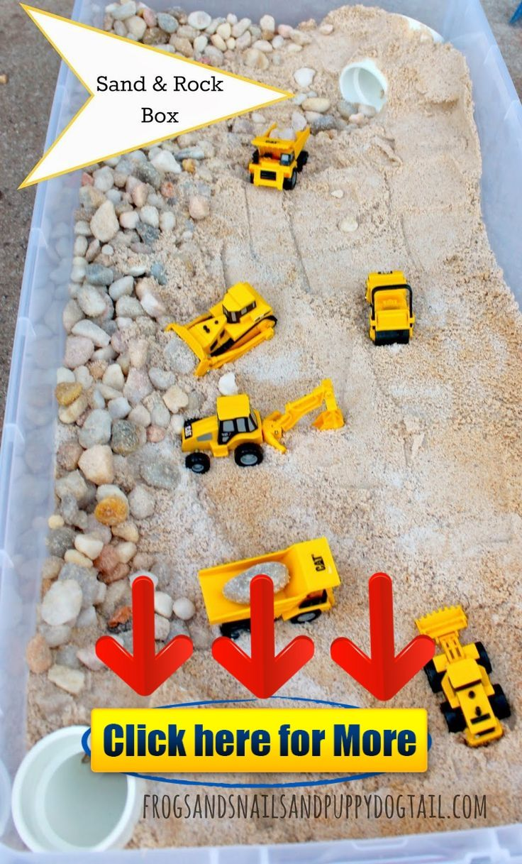 DIY Sand and Rock Box 👈 #kids #kid #education #app How to