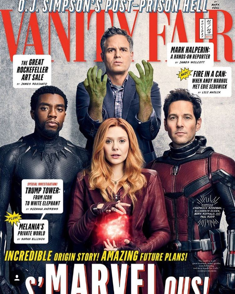 avengers  infinity wars cover vanity fair magazine