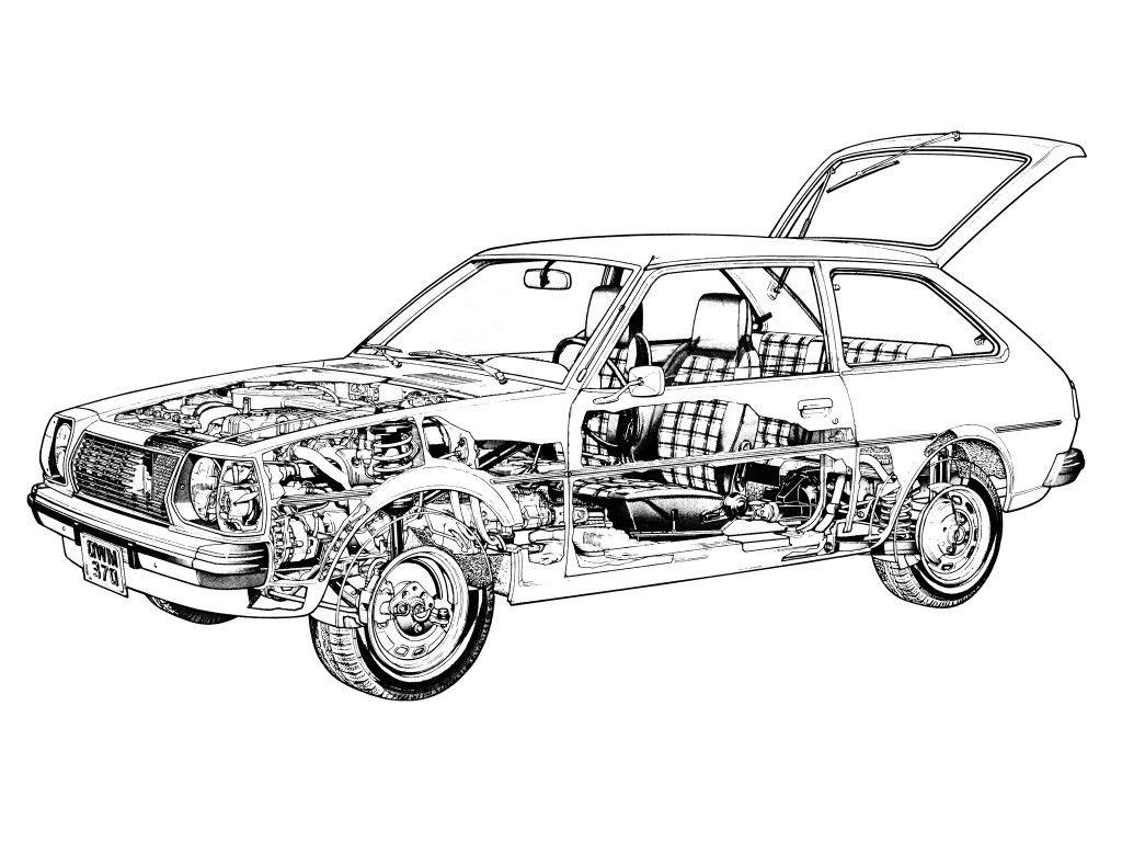 Mazda 323 3 Door Fa 80