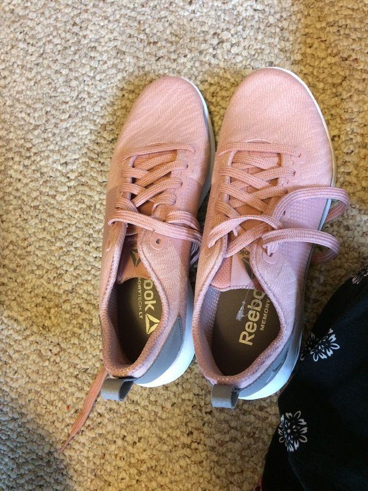 REEBOK Astroride Walk Women s Athletic Comfort Shoes Pink CN0857 Sz8 ... 92ac4f2b2
