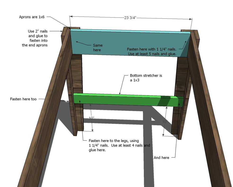 Narrow Farmhouse Table Farmhouse table, Picnic table