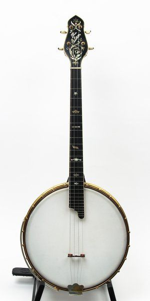 This is an original top of the line Gibson banjo