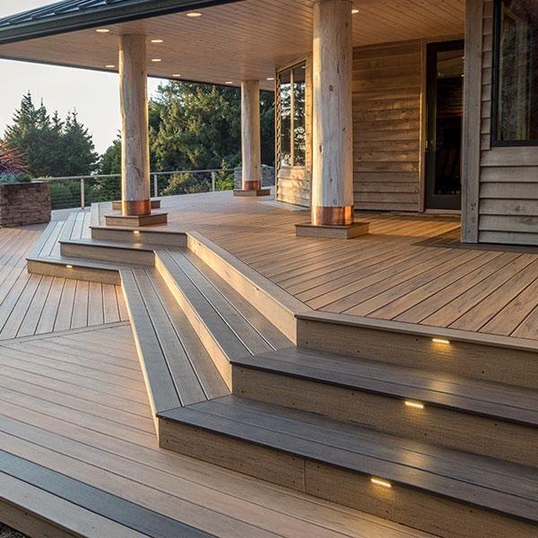 Deck Lighting Image Gallery