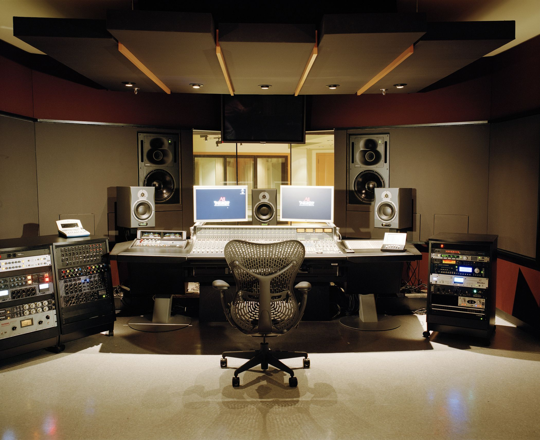 The art institutes vitalize professional recording for Room design rules