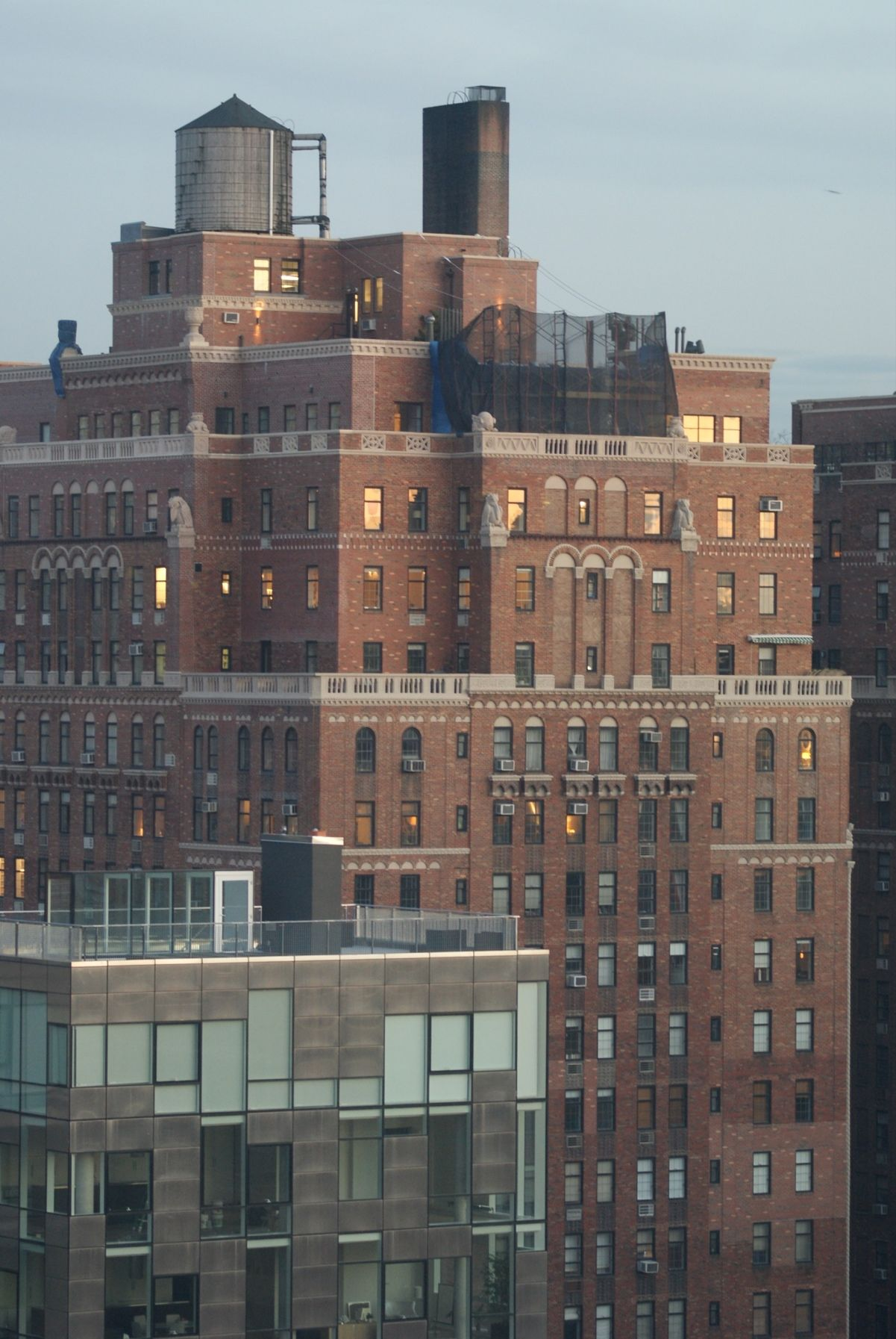 Photographed From The 14th Floor Of 545 West 25th Street The Glass Houses At Chelsea Arts Tower Dream City City Tower