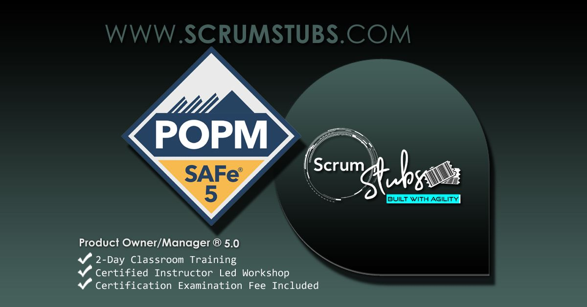 Product Owner Product Manager Popm Certification Course 24 7 Support Certifications Learning Goals Scrum Master Classroom Training