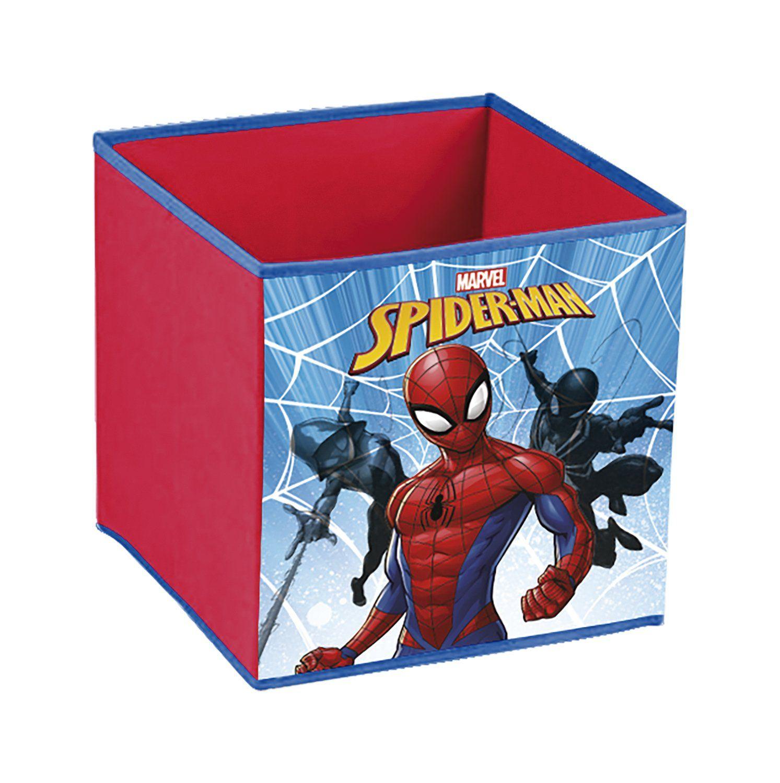 Spiderman Aufbewahrungsbox Fur Das Kinderzimmer Diese