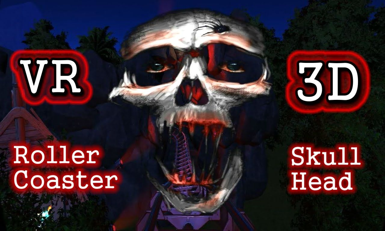 Roller Coaster Vr Box Video 3d Sbs Pov Ride Horror Scary Jumpscare Ca Roller Coaster Vr Box Vr Horror Games