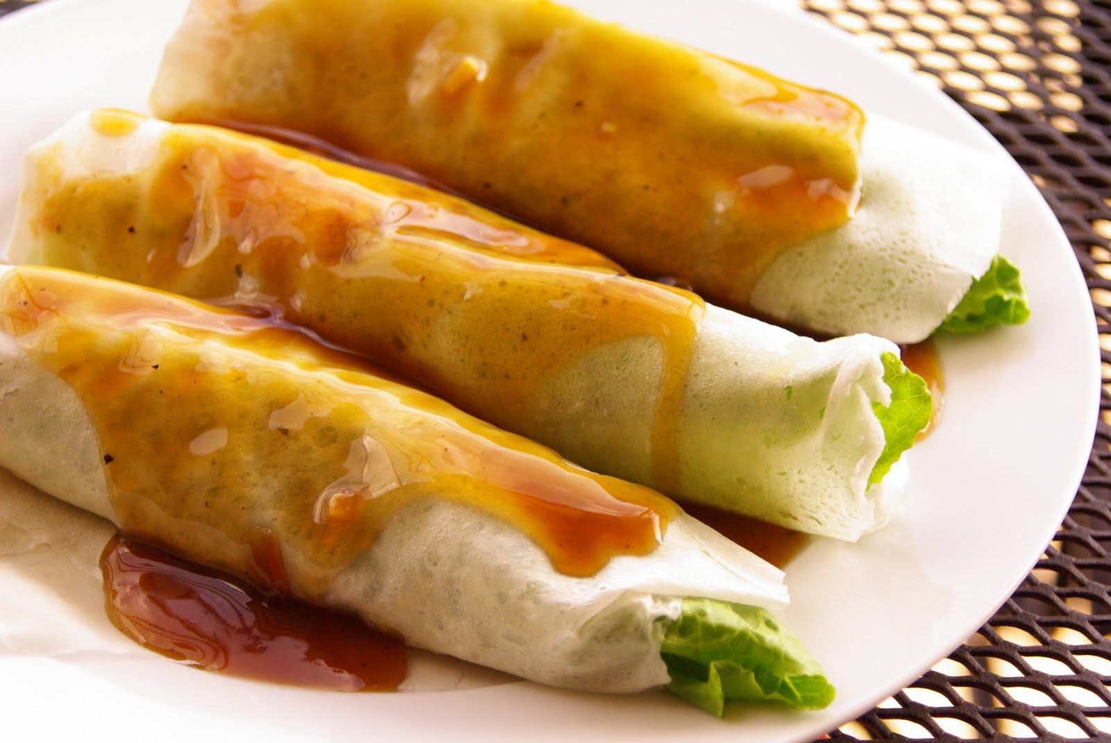 Fresh Lumpia Fresh Spring Rolls Lumpiang Sariwa Food