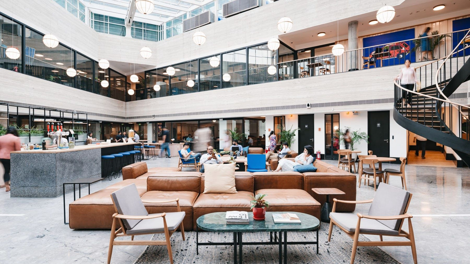 Hyphen Office Space & Coworking in Manchester WeWork