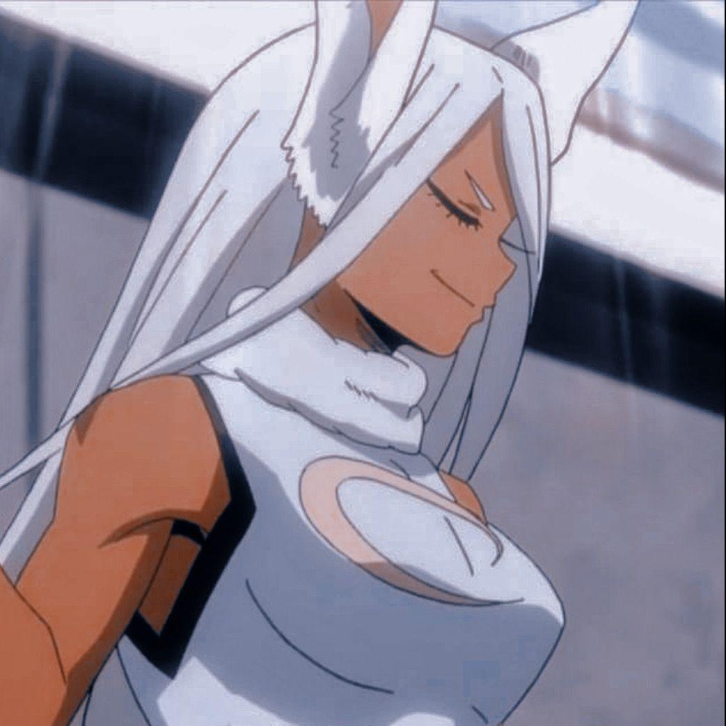 Icon Rabbit Hiro Mirko Black Anime Characters Black Girl Cartoon Hero Academia Characters