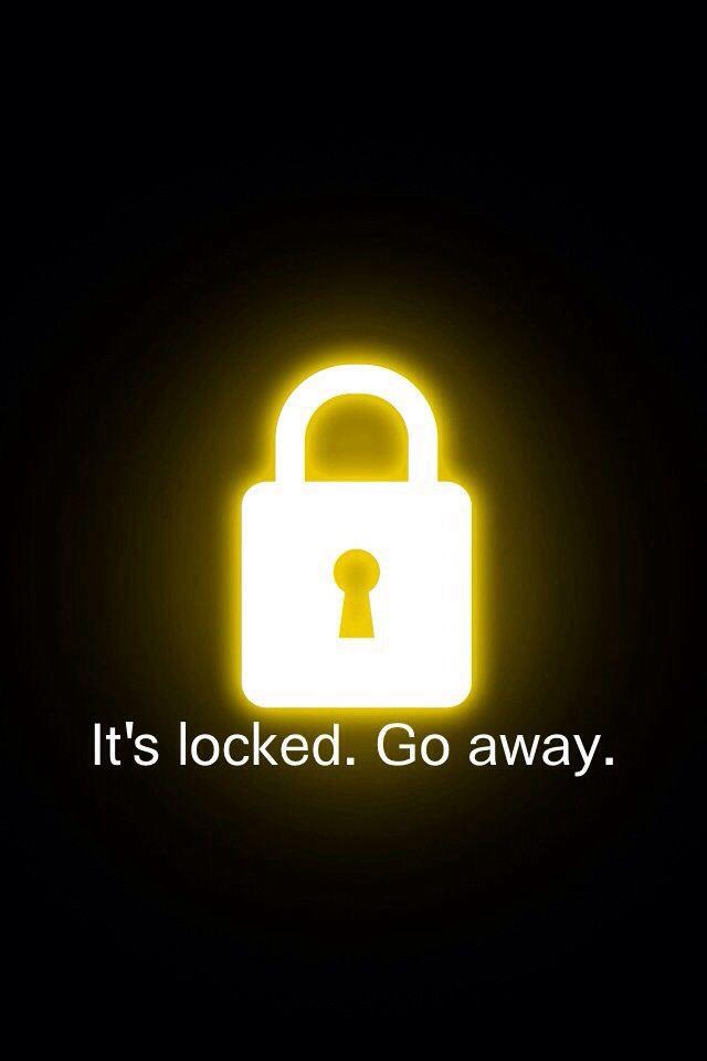 Phone Is Locked Wallpaper