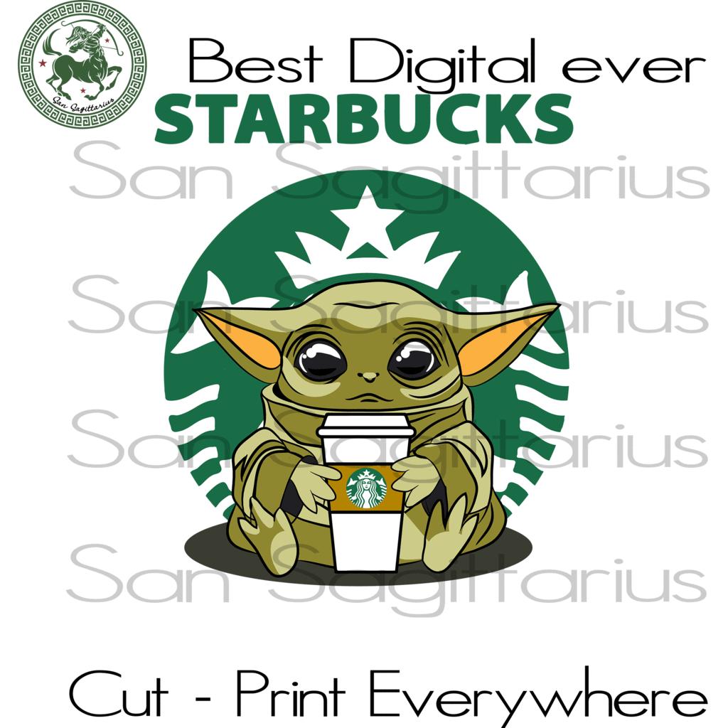 Baby Yoda Starbucks Star Wars, Baby Yoda, Starbucks Coffee