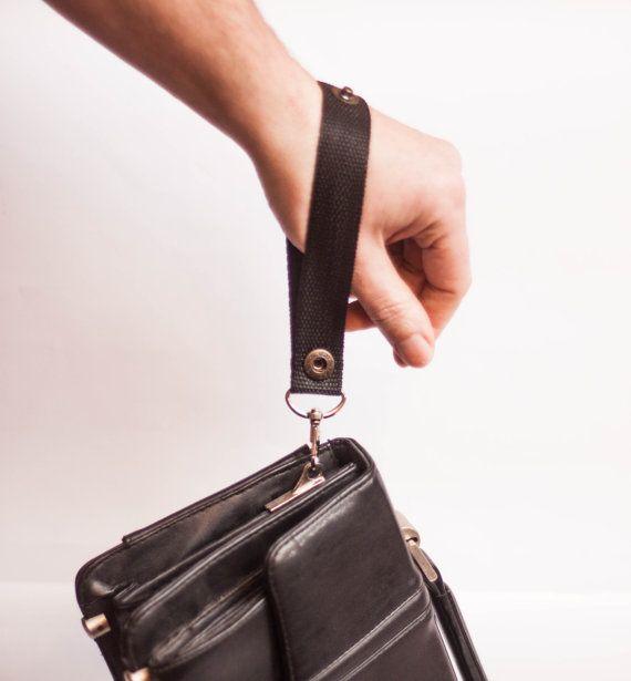 Keychain bag handle universal holder organizer of от LoveKnittings