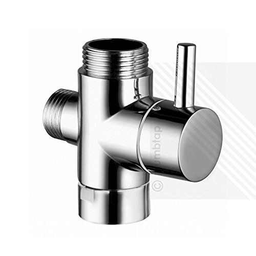 Round Diverter Valve with Lever - for Exposed Showers Arms