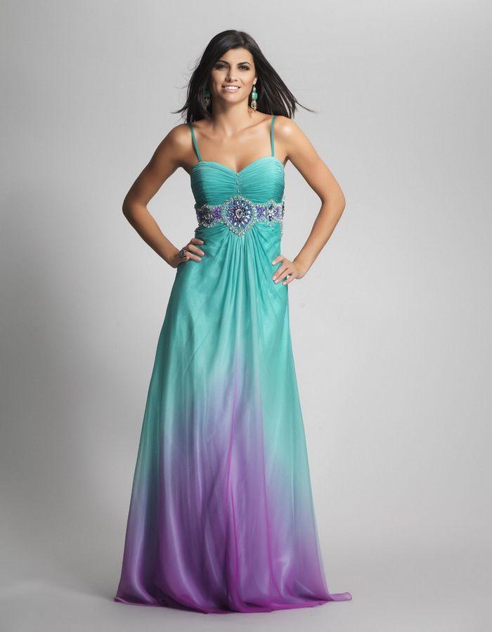 Beautifull Bridesmaids Dress in Wedding: Purple And Teal ...