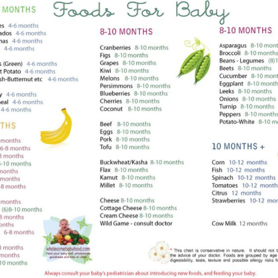 wwwwholesomebabyfood handy for the next few months ) handy - baby chart