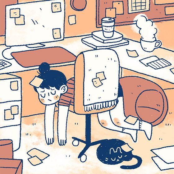 Série ilustrada mostra perfeitamente como é a vida de quem tem gatos