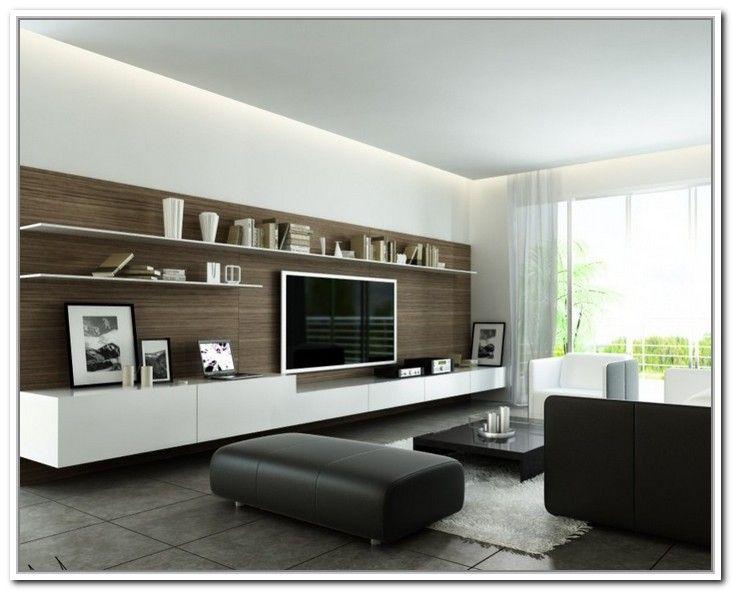 White tv storage combination wall tv unit pinterest for Minimalist living storage