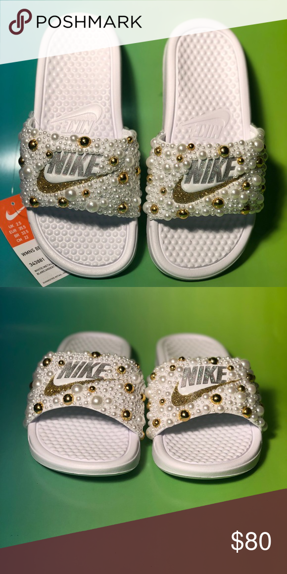 Size Nike By Customized Benassi Slides 5 Sprinklemyfeet CxBdoe