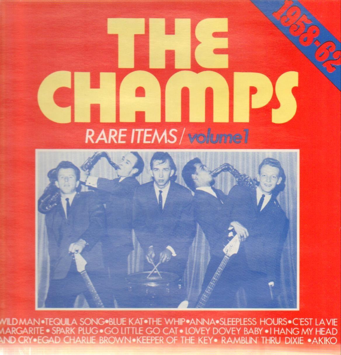 Rare Items Volume 1 - The Champs - LP (London)
