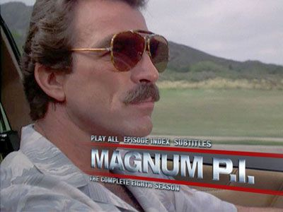 magnum pi -   even from a young age i wanted to investigate!