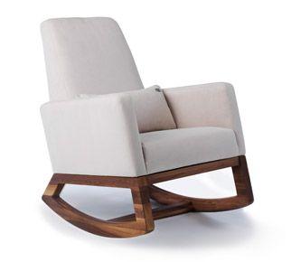 Joya Rocker Contemporary Chair Modern Nursery Furniture By Monte Design