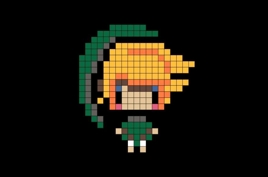 Legend Of Zelda Pixel Art Pixel Art Link Pixel Art