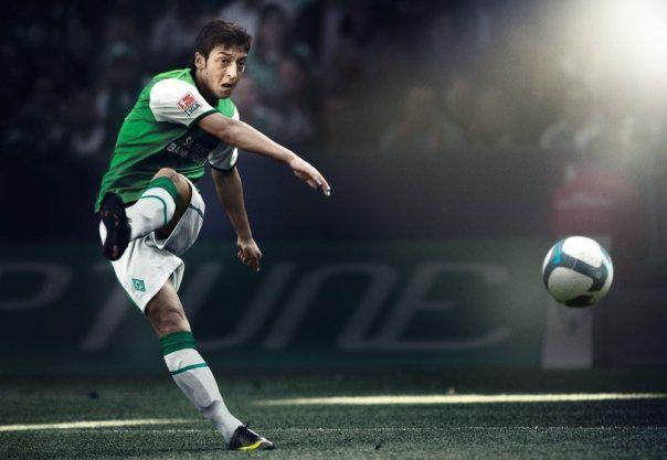 Mesut Ozil Werder Bremen Nike Soccer