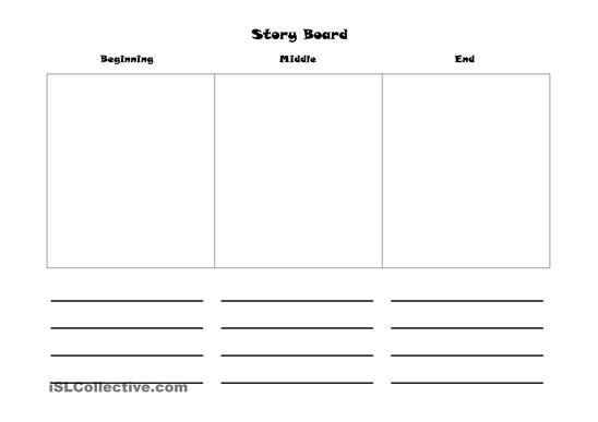 Story Board Worksheet Free Esl Printable Worksheets Made By ...