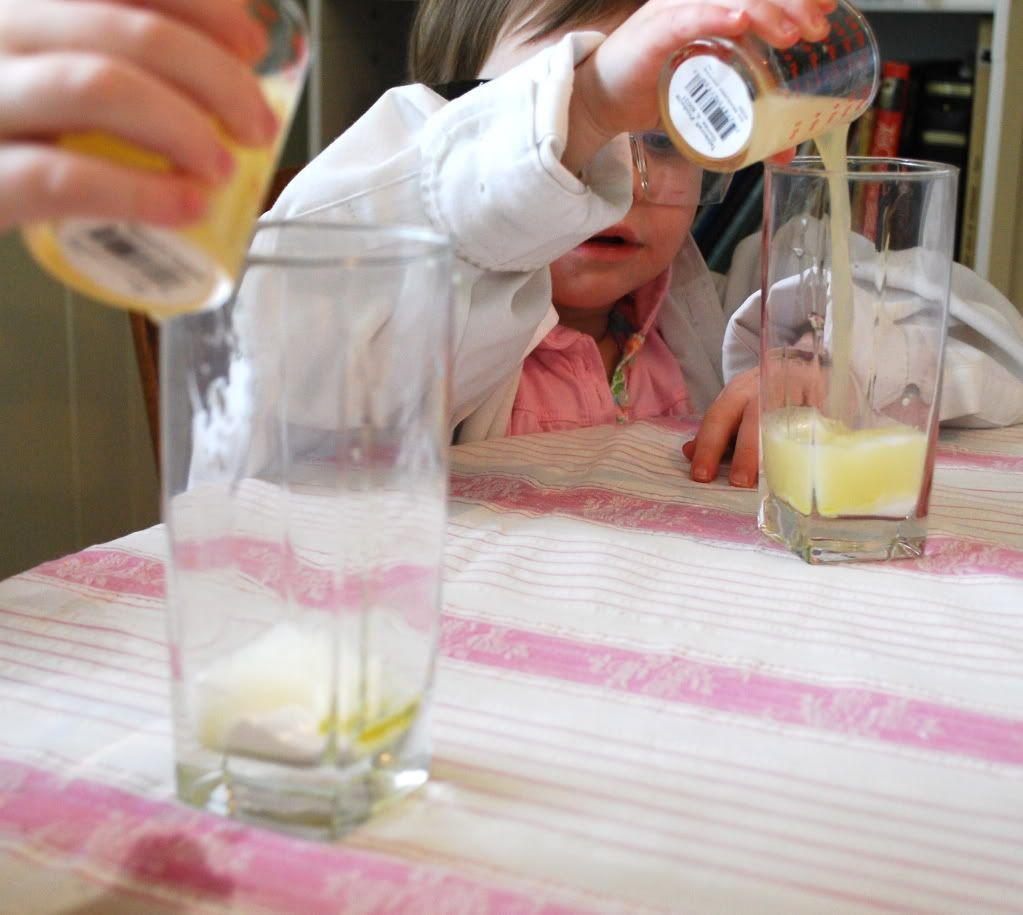 acid base experiments