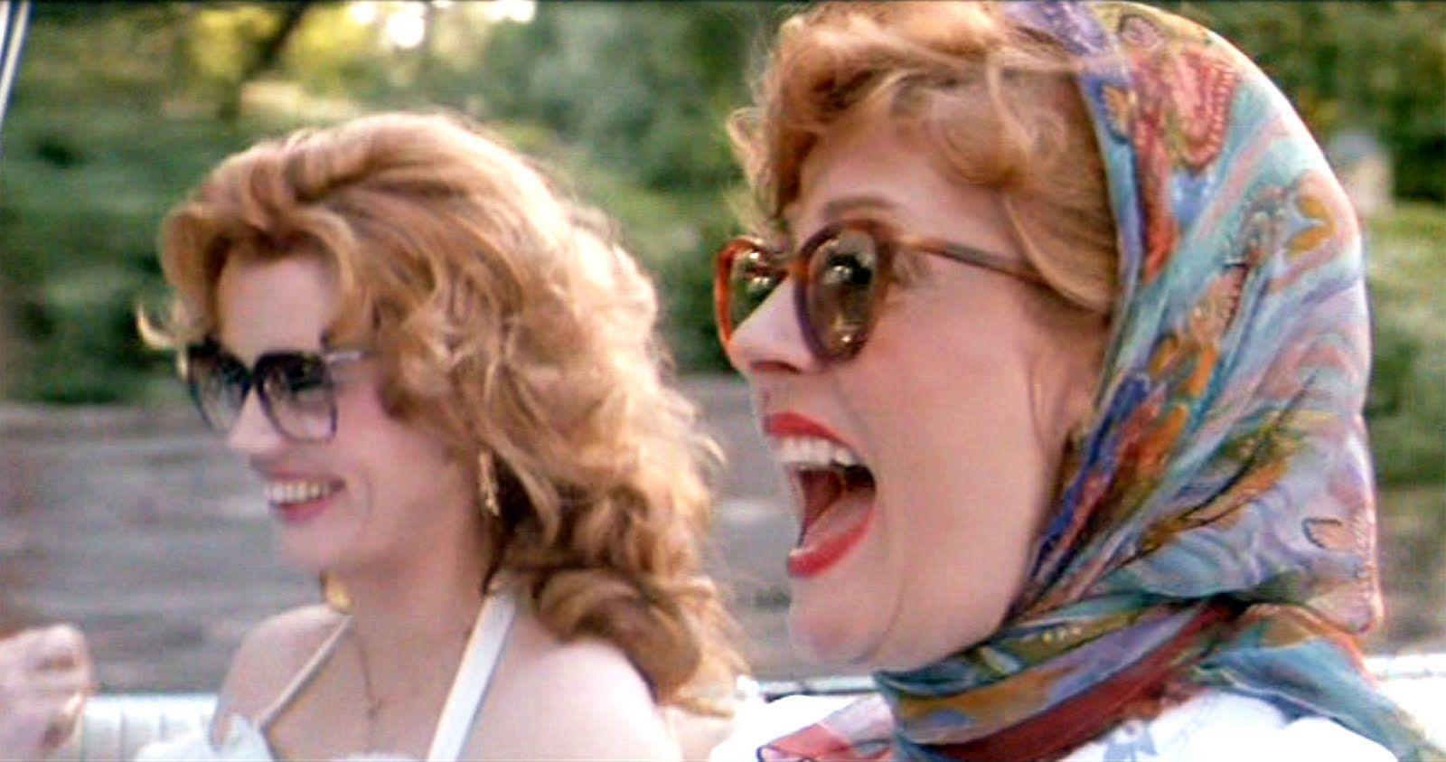 Susan Sarandon y Geena Davis en Thelma and Louise (Ridley