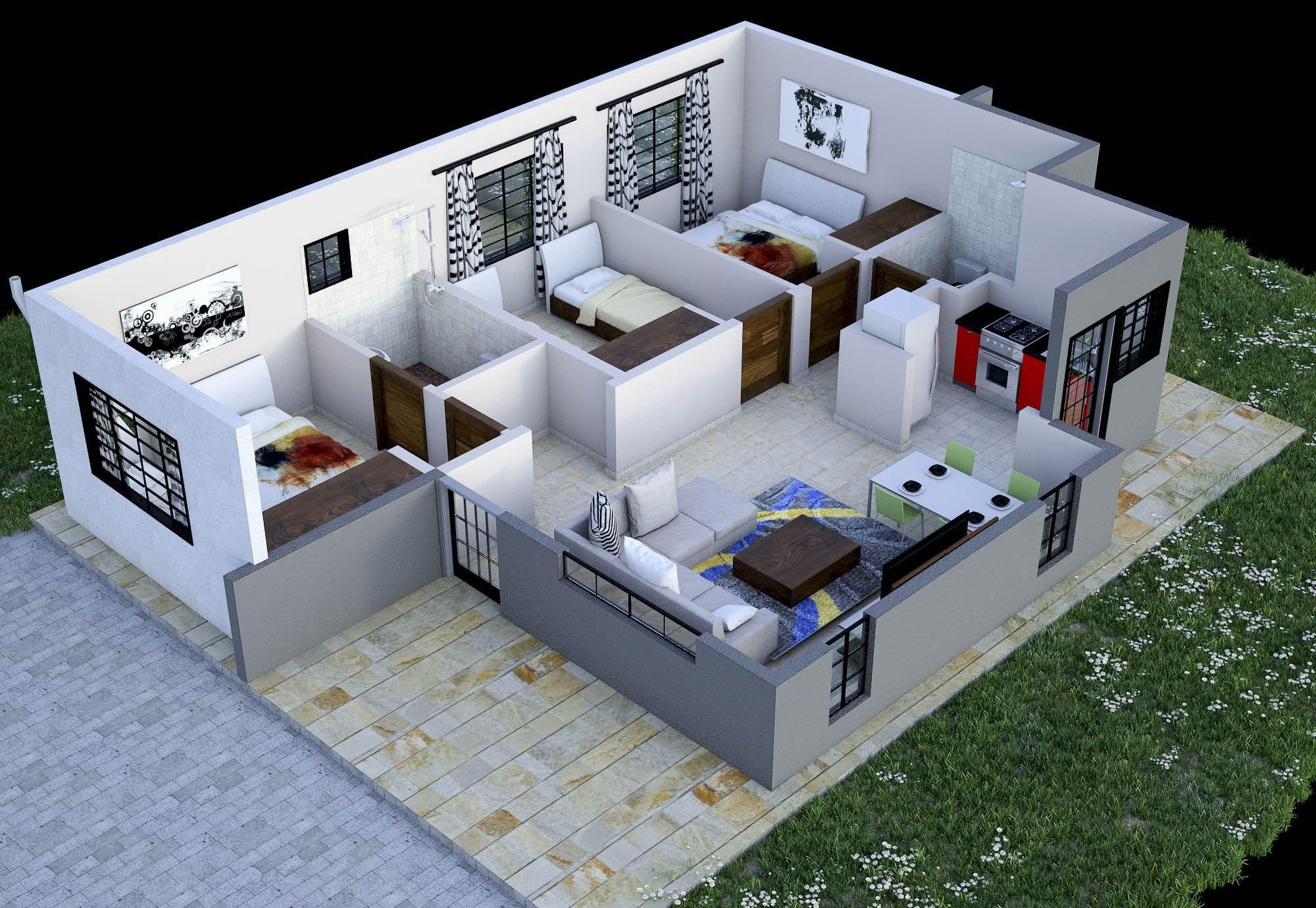 38 Plan Maison Kenya My House Plans House Design Design