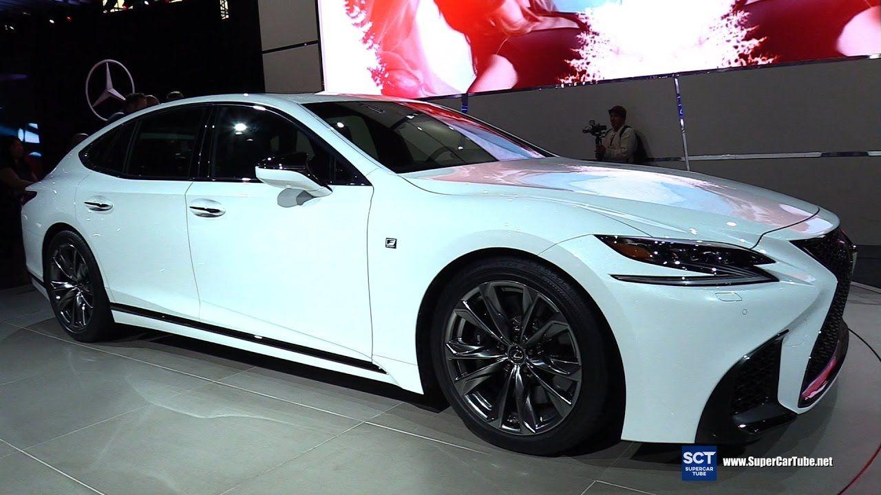 2018 Lexus Ls 500 F Sport Exterior Interior Walkaround Debut At 2017 Lexus Ls Lexus New Lexus 2018 lexus ls 500 f sport