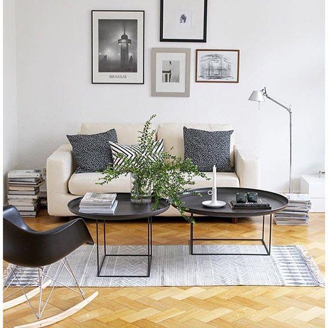Norr11 Duke Table For the Home Pinterest Duke, Living rooms - schwarz weiß wohnzimmer