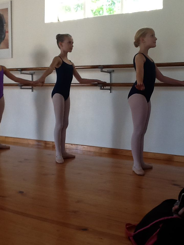 Practice and more practice. New Gr 3 RAD barre syllabus.