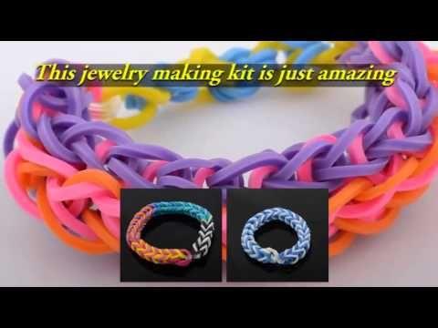 Http Mazichands Tumblr Com Bracelet Making Rubber Band Bracelet Kits For Kids