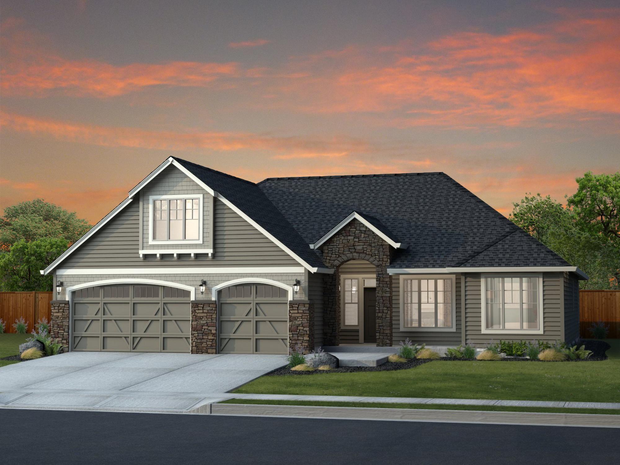 Prescott Nw Ps Craftsman House Plans Lake House Plans Dream House Plans