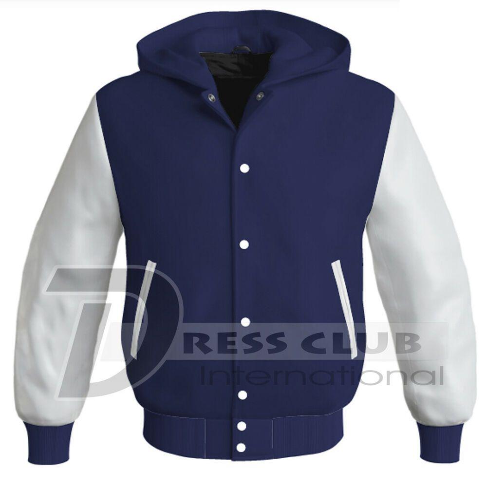 New Letterman Baseball College Varsity Bomber Super Jacket Sports Wear Red Satin