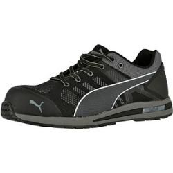 "Photo of Puma® Men's Safety Shoes ""elevate Knit Black Low"" Urban Protect S1P black size 43 Puma"
