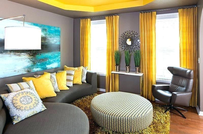 Gelbes Zimmer Dekor Wohnzimmer Modern Gelbes Zimmer